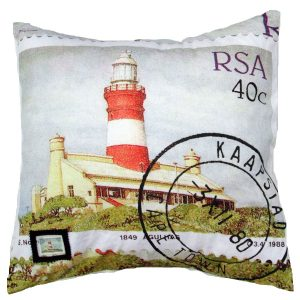 Cushion Lighthouses 40c Cape Aghulas 2