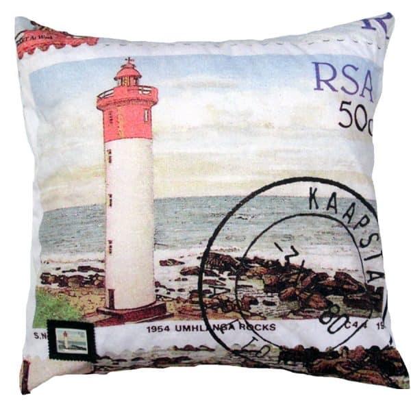 Cushion Lighthouses 50c Umhlanga Rocks 2