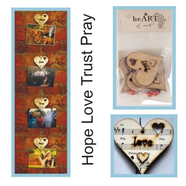 photo string hope love trust pray