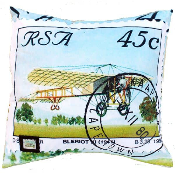 Cushion Cover Plane Bleriot
