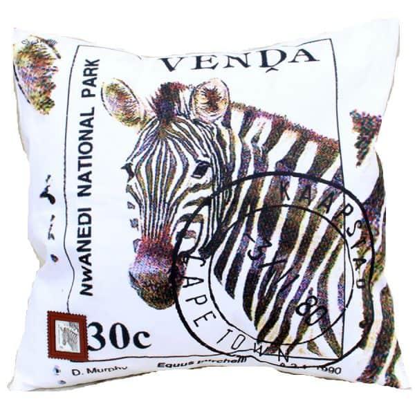 Cushion Cover Venda 30c Zebra