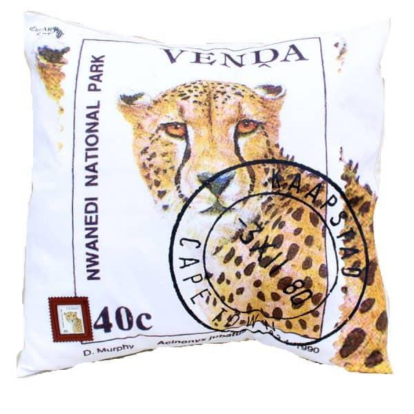 Cushion Cover Venda 40c Cheetah