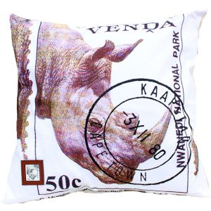 Cushion Cover Venda 50c Rhino