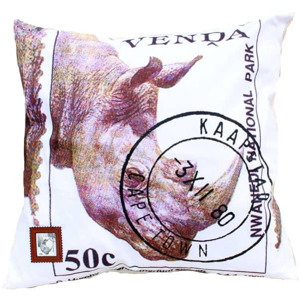 Cushion Cover Venda 50c Rhino